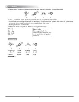 Page 1 1 A figura mostra modelos de algumas moléculas com