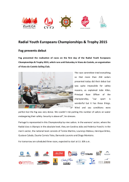 Radial Youth Europeans Championships & Trophy 2015