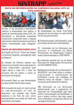 PAUTA - PRESIDENTE PRUDENTE - 2015 (18.11.14)