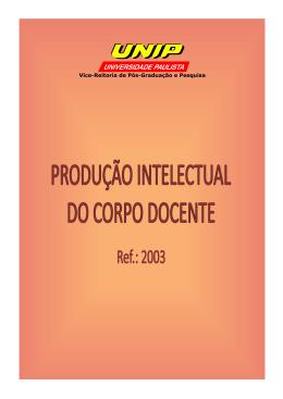 2003 - Unip