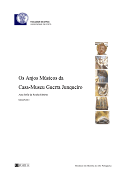 Os Anjos Músicos da Casa-Museu Guerra Junqueiro