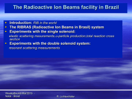The Radioactive Ion Beams facility in Brazil
