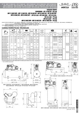 CT 18 - LINHA MSV e CSV MAX -
