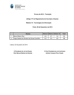 Nomes 1 Maria Ribeiro Rua 6.2 4.7 1.9 13 2 Tiago Gabriel de