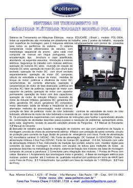 """São Paulo / SP - Cep. 04119-062 """" Visite nosso site: www"""