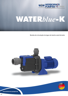 WATERblue-K - Herborner Pumpenfabrik J. H. Hoffmann GmbH & Co.