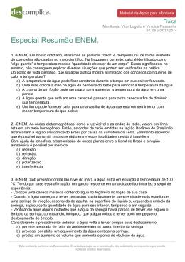 Especial Resumão ENEM.