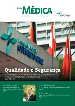 Qualidade e Segurança gia - Hospital Alemão Oswaldo Cruz