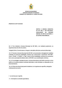 264/14 - Câmara Municipal de Manaus