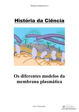 Membrana plasmática - Biologia e Geologia (ano 1)