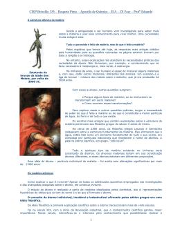 Apostila de Química - Página pessoal de Eduardo Porto
