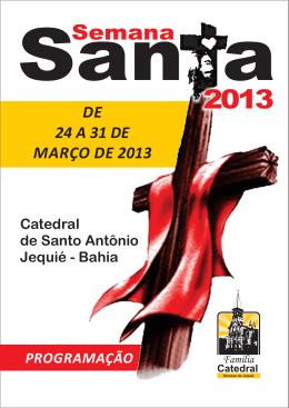 comunidades - Paróquia Catedral de Santo Antônio