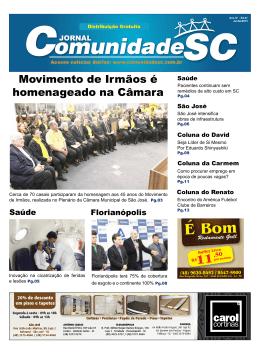 SÃO JOSÉ - Jornal Comunidade SJ