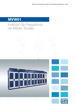MVW01 Inversor de Frequência de Média Tensão