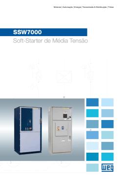 SSW7000 Soft-Starter de Média Tensão