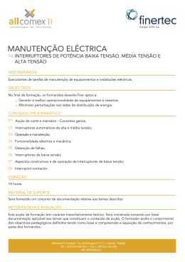 14_Interruptores de potencia baixa media e alta tensao