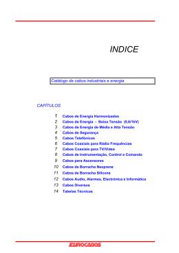 Catálogo EUROCABOS