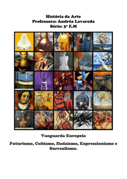 vanguarda europeia pdf