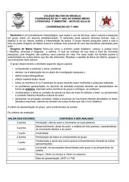 COLÉGIO MILITAR DE BRASÍLIA COORDENAÇÃO - Portal
