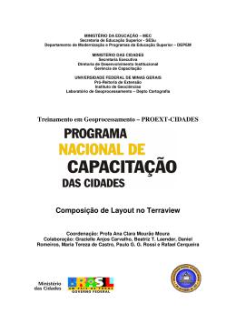 Layout - Terra View - Universidade Federal de Minas Gerais