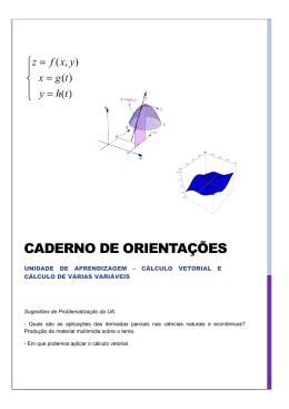 CADERNO DE ORIENTAÇÕES