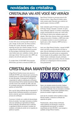 03 - Água Mineral Cristalina
