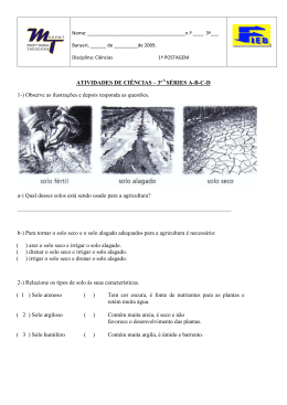 ATIVIDADES DE CIÊNCIAS – 3ª SÉRIES ABCD 1-) Observe