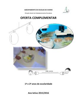 OFERTA COMPLEMENTAR - Agrupamento de Escolas de Aveiro