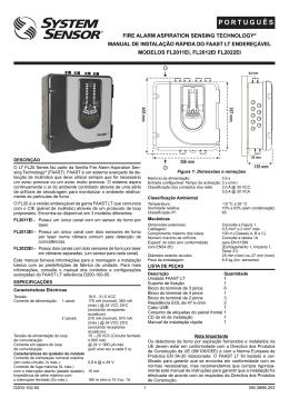 P O R T U G U Ê S - System Sensor Europe