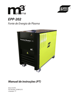 EPP-202 - ESAB Welding & Cutting Products