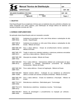 Manual Técnico de Distribuição