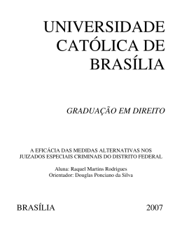 Raquel Martins Rodrigues - Universidade Católica de Brasília