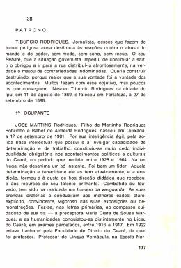 JOSÉ MARTINS RODRIGUES (ex-Acadêmico)