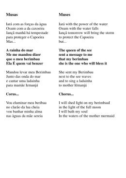 Letras de Mestre Alexandre Batata