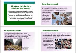 Direitos Cidadanias e Movimentos Sociais 2 [Modo de