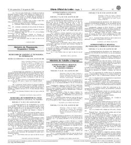 61 Ministério do Planejamento, Orçamento e Gestão Ministério do