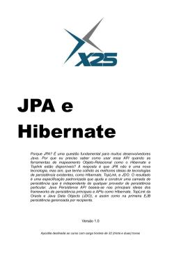 JPA e Hibernate - Clicks de Fernando Anselmo