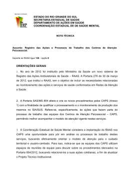 acesse aqui a nota técnica - Secretaria Estadual da Saúde do Rio