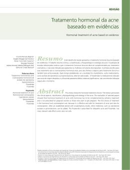 Tratamento hormonal da acne baseado em evidências