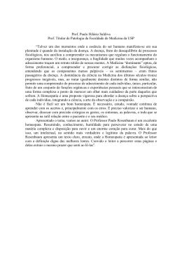 Paulo Hilário Saldiva - homeopatia.med.br