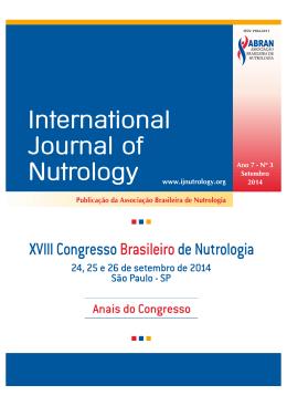 I Consenso da Associação Brasileira de Nutrologia sobre