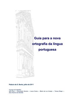 Guia para a nova ortografia da língua portuguesa