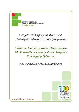 Especialização em Ensino da Língua Portuguesa e Matemática