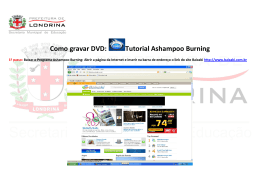 Como gravar DVD: Tutorial Ashampoo Burning
