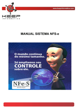MANUAL SISTEMA NFS-e