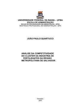 Pre Textual - Ufba - RI UFBA