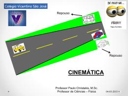 Aula 01 - Cinemática