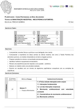 FQ - Agrupamento Escolas João da Silva Correia