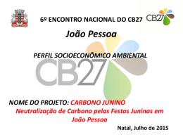 CB27 Natal - João Pessoa