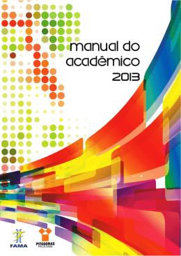Manual Acadêmico 2013